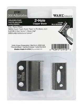 Wahl Magic Clip Clipper Blade 2191 Super Taper * Magic Clip *genuine Wahl*