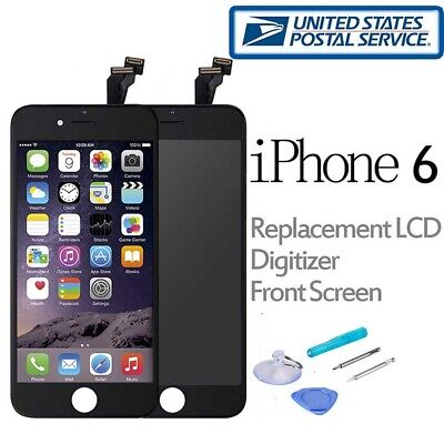 For iPhone 6S Plus LCD Screen Replacement Touch Digitizer Front Glass Assembly