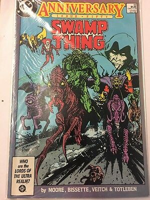 Dc Comics Swamp Thing 50Th Anniversary Issue #e