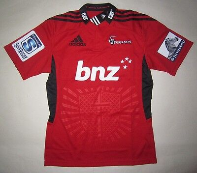 CRUSADERS Super Rugby Home Jersey (Adult Small) - BNWT