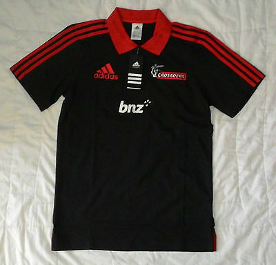 CRUSADERS Super Rugby Polo Shirt (Adult Small) - BNWT
