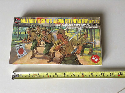 Airfix Soldiers..military Japaneseinfantry..1941/45..1/32 Scale..made In 1977