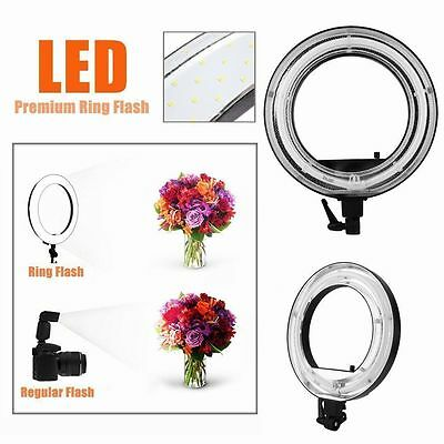 """New 18"""" Dimmable Photo Video Continuous Ring Light Kit Incl Carry Bag USA STOCK@"""