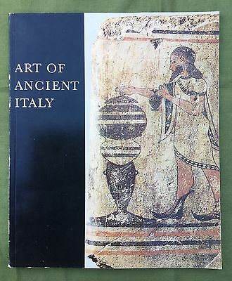 Art Of Ancient Italy Etruscans Greeks And Romans Andre Emmerich Gallery 1970 Gd