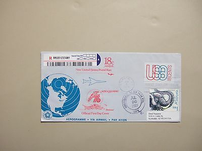 Malaysia registered aerogramme with ELEPHANT 1.00 RM stamp