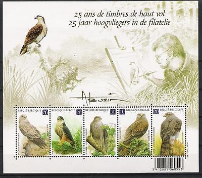 Belgique . Buzin - Bloc 5V**mnh - Rapaces / Birds Of Prey