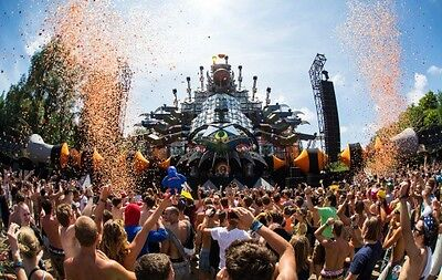 2 x Tomorrowland 2017 Magnificant Greens Package - WEEKEND 2 - Travel included