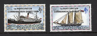 FALKLAND ISLANDS - 1982, 1st Participation in the Commonwealth Games, MNH