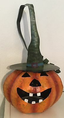 Metal Halloween Pumpkin