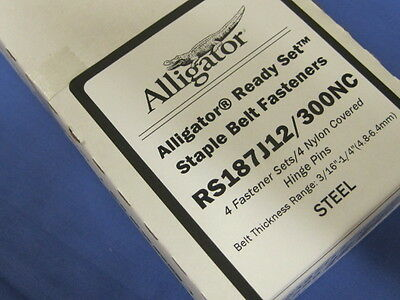 Flexco 54588 Alligator Ready Set Staples RS187J12/300NC