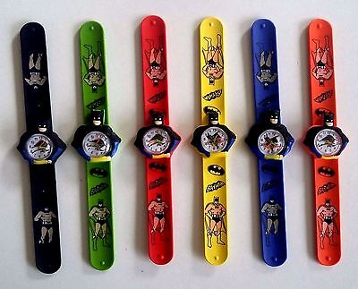 Kids Batman Silicon Snap On watches