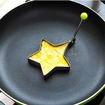Breakfast Fried Egg Molds Mould Pancake Star Ring Shaper Funny Cooking Tools FT