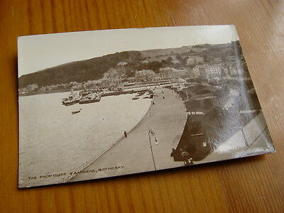 TOP547 - Postcard - The Promenade and Gardens, Rothesay
