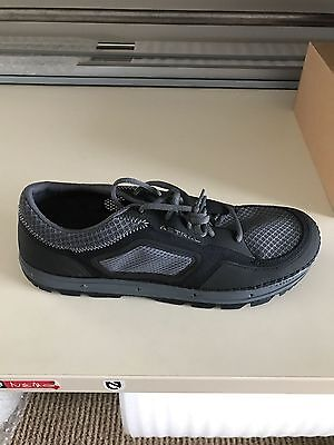 Astral Men's Aquanaut Water Shoe, Black/Grey, US Size 8, With Drainage Ports