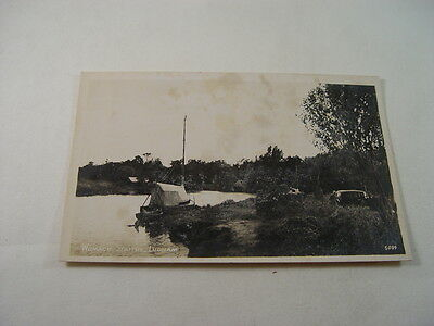 TOP12048 - Real Photo Postcard - Womack Staithe, Ludham