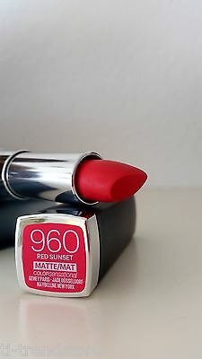 Maybelline Color Sensational Lipgloss Lipstick Lippenstift  Lip 960 Red Sunset
