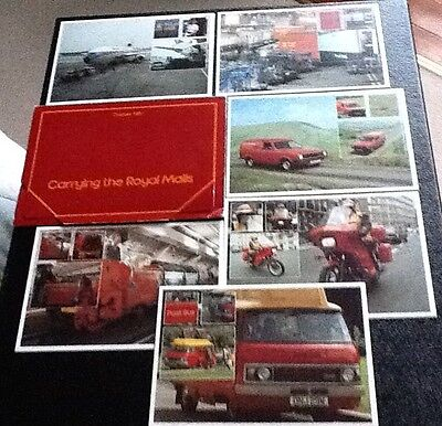Post Cards Royal Mail six cards in folder 1981 near mint
