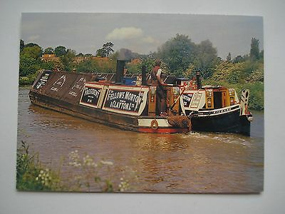 Postcard - President Steam Narrow Boat with Butty Kildare