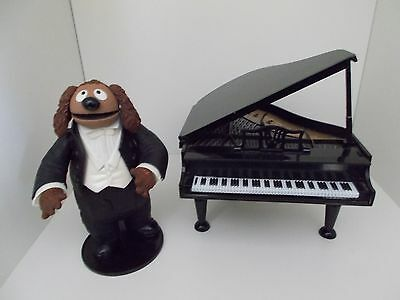 The Muppets figures  - Rowlf with piano