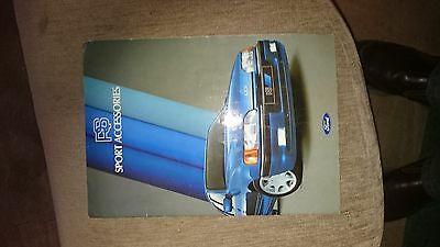 ford RS SPORT ACCESSORIES BROCHURE