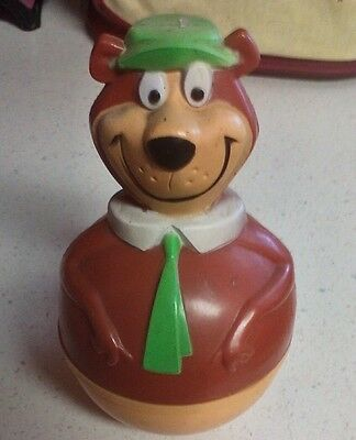 Roly Poly Yogi Bear made by Sanitoy co for Hanna Barbera in 1979