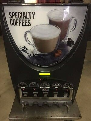 Bunn Imix 5 Head Commercial Cappucinno Coffee Hot Chocolate Machine