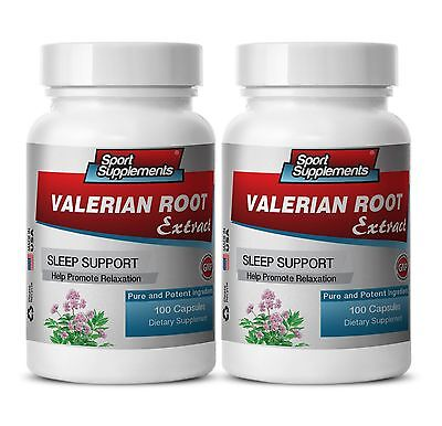 Valerian Extract Pills - Valerian Root  4:1 125mg - Naturally Aids Sleep Caps 2B