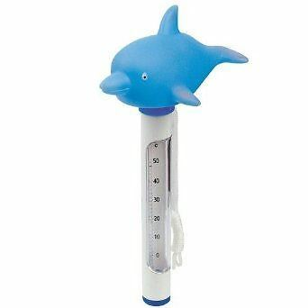 Thermometer Swimming Pool Spa Fish Kids Children Floating Garden Outdoor Water