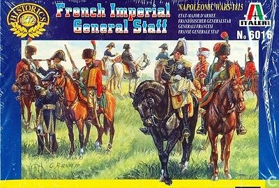 Italeri - French Imperial general staff - 1:72