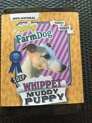 Whippet / Bar of Dog Soap / Fun Graphics / Unique Gift / All Natural