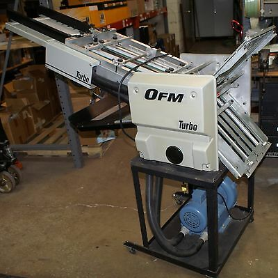 OFM Turbo Air Feed Paper Folder