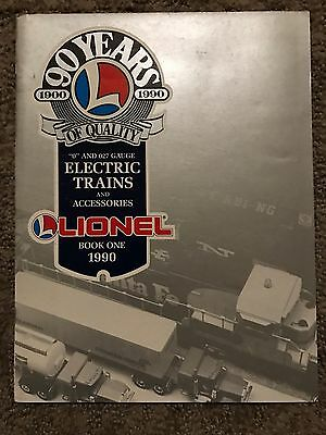1990 Lionel Electric Trains And Accessories Catalog Book One