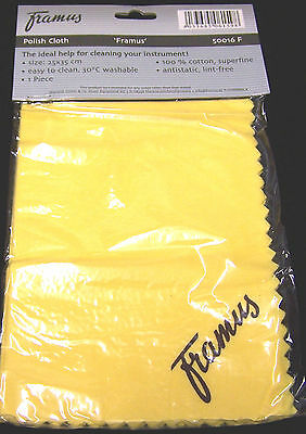 Framus 50016F Polish Cloth 25x35 Poliertuch