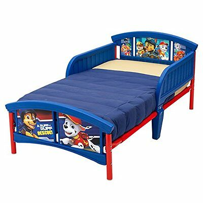 Delta Children Plastic Toddler Bed, Nick Jr. PAW Patrol.Free Shipping