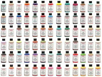 Angelus Brand Acrylic Leather & Vinyl Waterproof Paint All Colors 4 oz