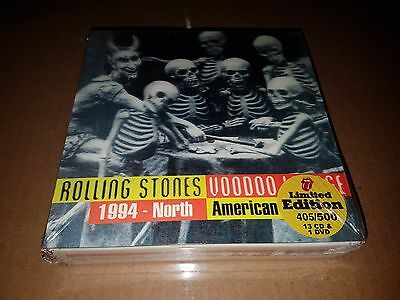 Rolling Stones  - voodoo lounge north american- rare 13 cd 2dvd  box set -sealed