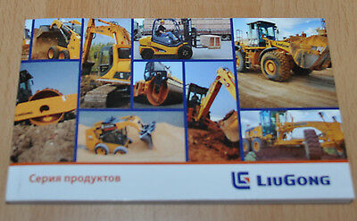 LiuGong Model Range China Construction Brochure Prospekt 144 pages