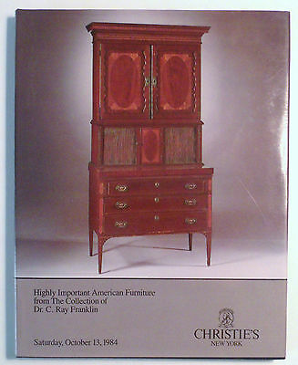 Highly Important American Furniture - Ray Franklin Collection - Christie's 1984