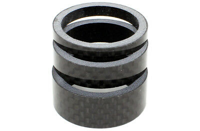 FWE Carbon Spacer 3 Pack 1 Inch - One size - Carbon - From Evans Cycles