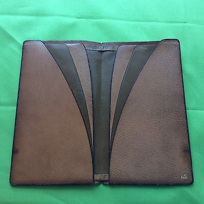 Vintage Ascot Leather Wallet / Billfold