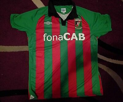 glentoran football shirt top mens medium northern ireland