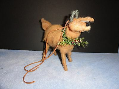 Ram's Horn Connection  Reindeer Christmas Decoration Wool