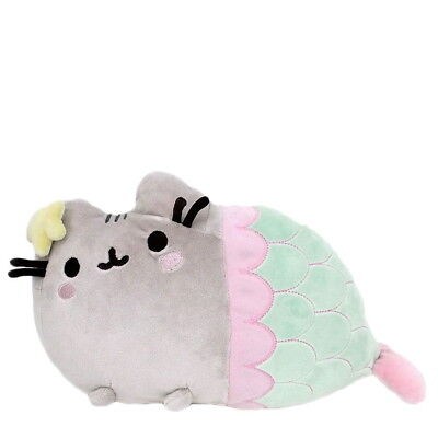 "NEW OFFICIAL GUND Pusheen The Cat Mermaid 12"" Plush Soft Toy 4056242"