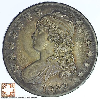1832 Capped Busted Half Dollar *XB23