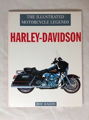 HARLEY-DAVIDSON ILLUSTRATED MOTORCYCLE LEGENDS by Roy Bacon V-TWINS SPORTSTER