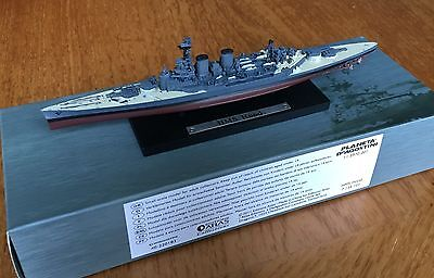 HMS HOOD (ATLAS EDITIONS) Model Warship 1:1250 Scale Boxed [SEALED]