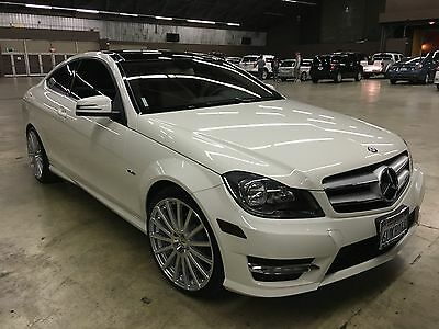 2012 Mercedes-Benz C-Class Coupe, Sport package Mercedes Benz C-klass C250 Sport Coupe 2012 4-Seat 2-Door