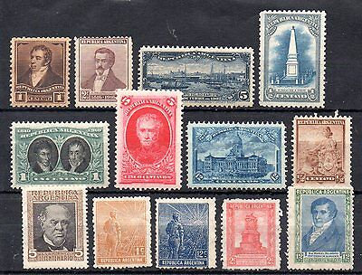 small collection of early argentina stamps. cat £8.50