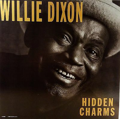 WILLIE DIXON 'Hidden Charms' 2 sided promo album flat suitable for framing 1988