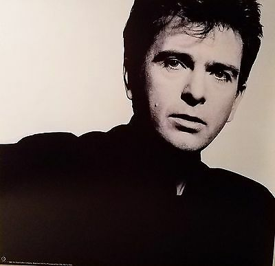 PETER GABRIEL 'SO' Promo album flat 1986 Suitable for framing Mint!